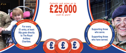 The Royal Artillery Charities launch The Gunner Lottery
