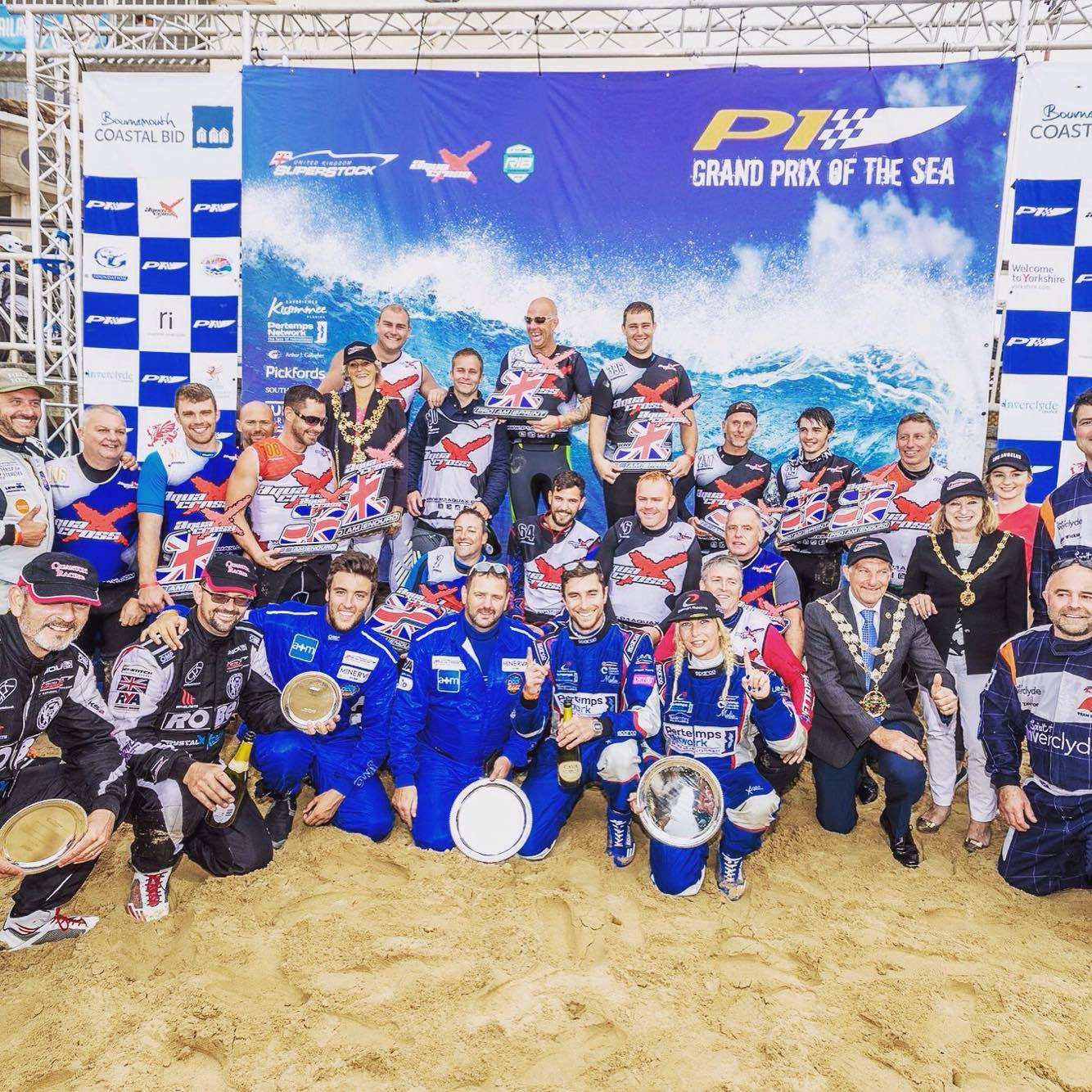 Daisy & Sam are crowned 2016 P1 SuperStock UK Champions