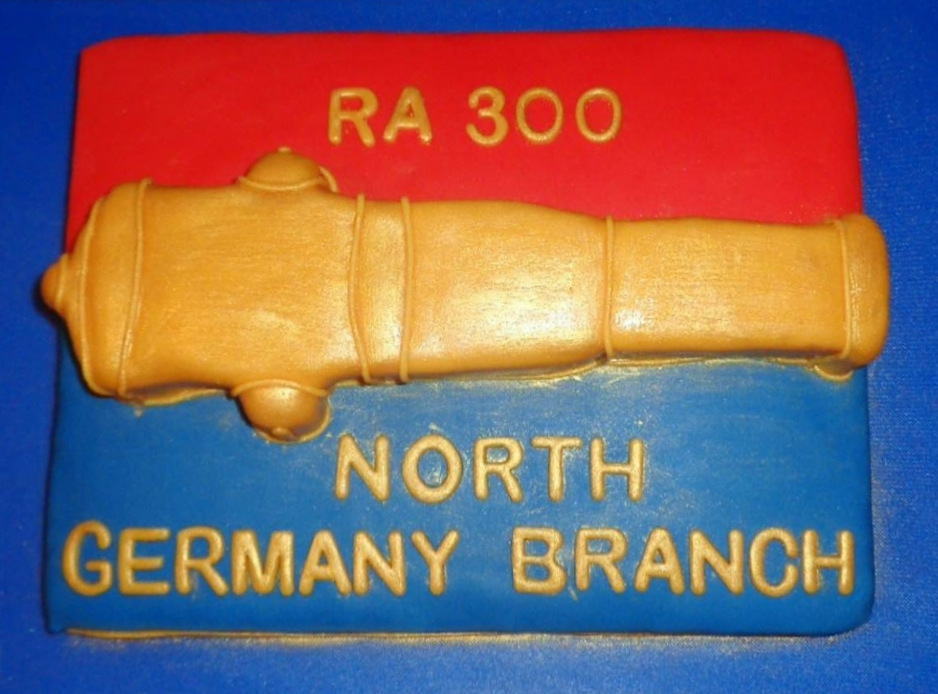 North Germany Branch RAA Celebrate RA300