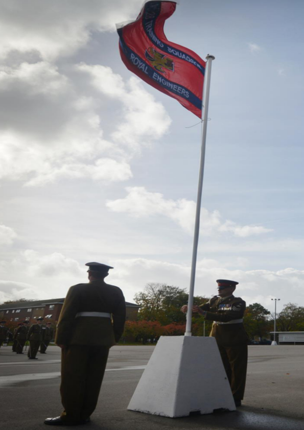 ARMY TRAINING CENTRE PIRBRIGHT SAY FAREWELL TO 76 BATTERY ROYAL ARTILLERY