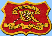 General Secretary visits 1st Tynemouth Volunteer Artillery