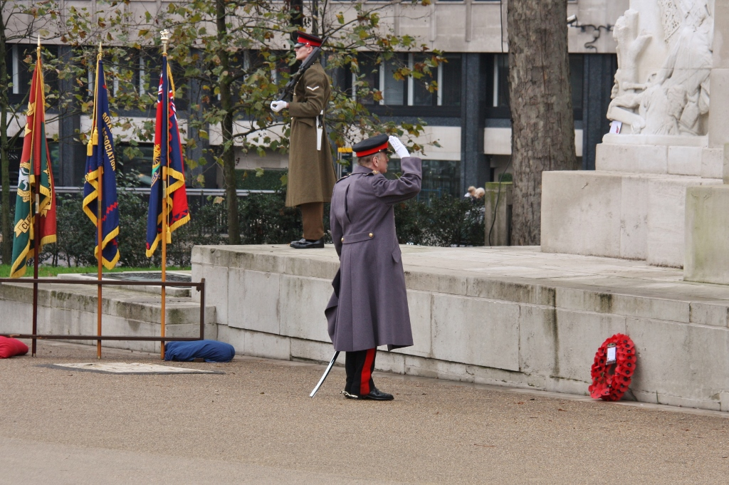 Royal Artillery Service of Remembrance Hyde Park 2014