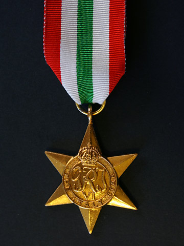 Italy Star Commemoration - 19th April 2015