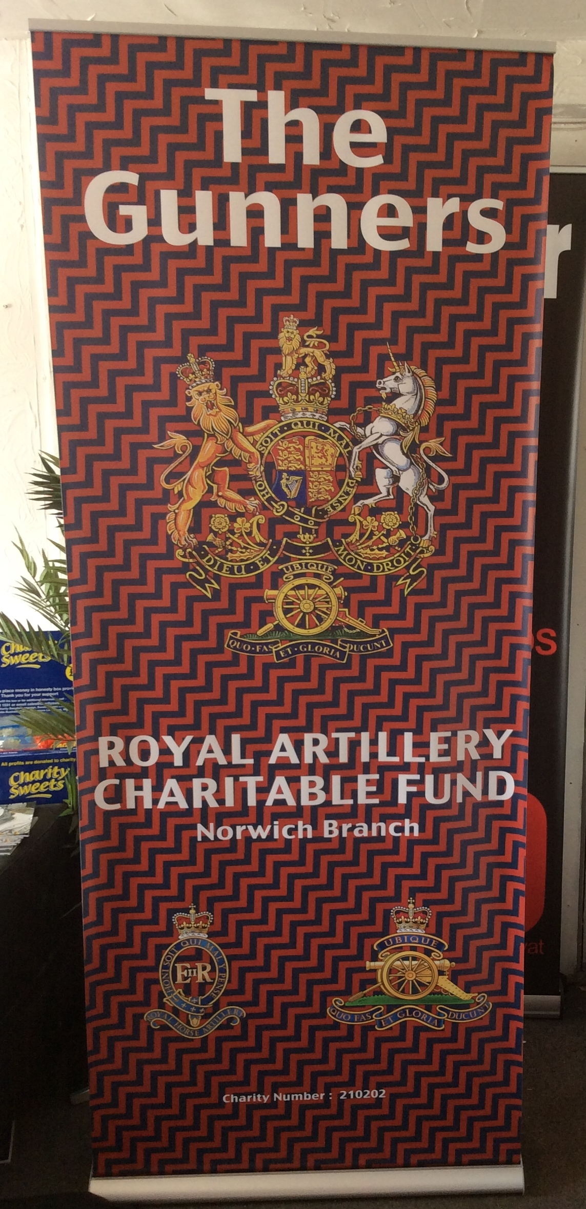 Norwich Branch RAA - New Banner Looks great!