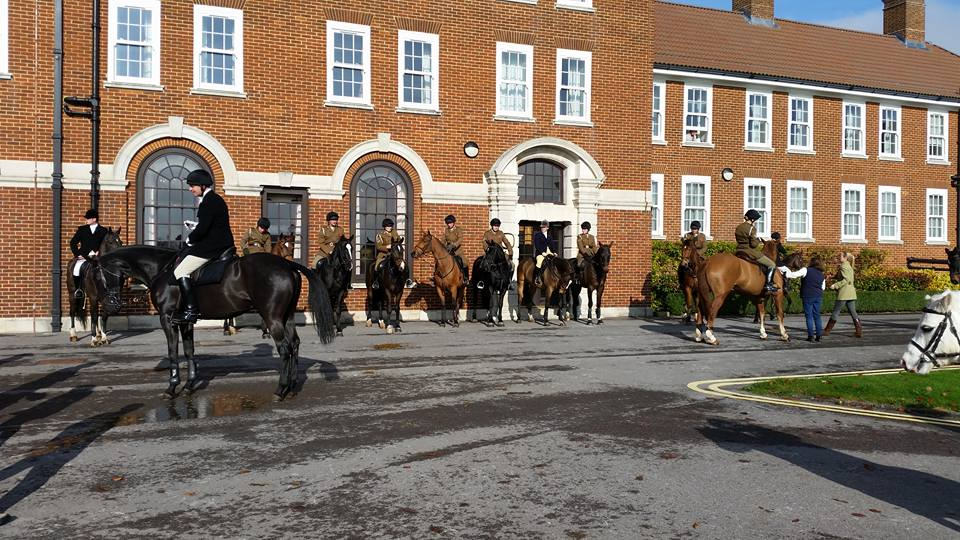 The Royal Artillery Hunt raises for the RA Charitable Fund