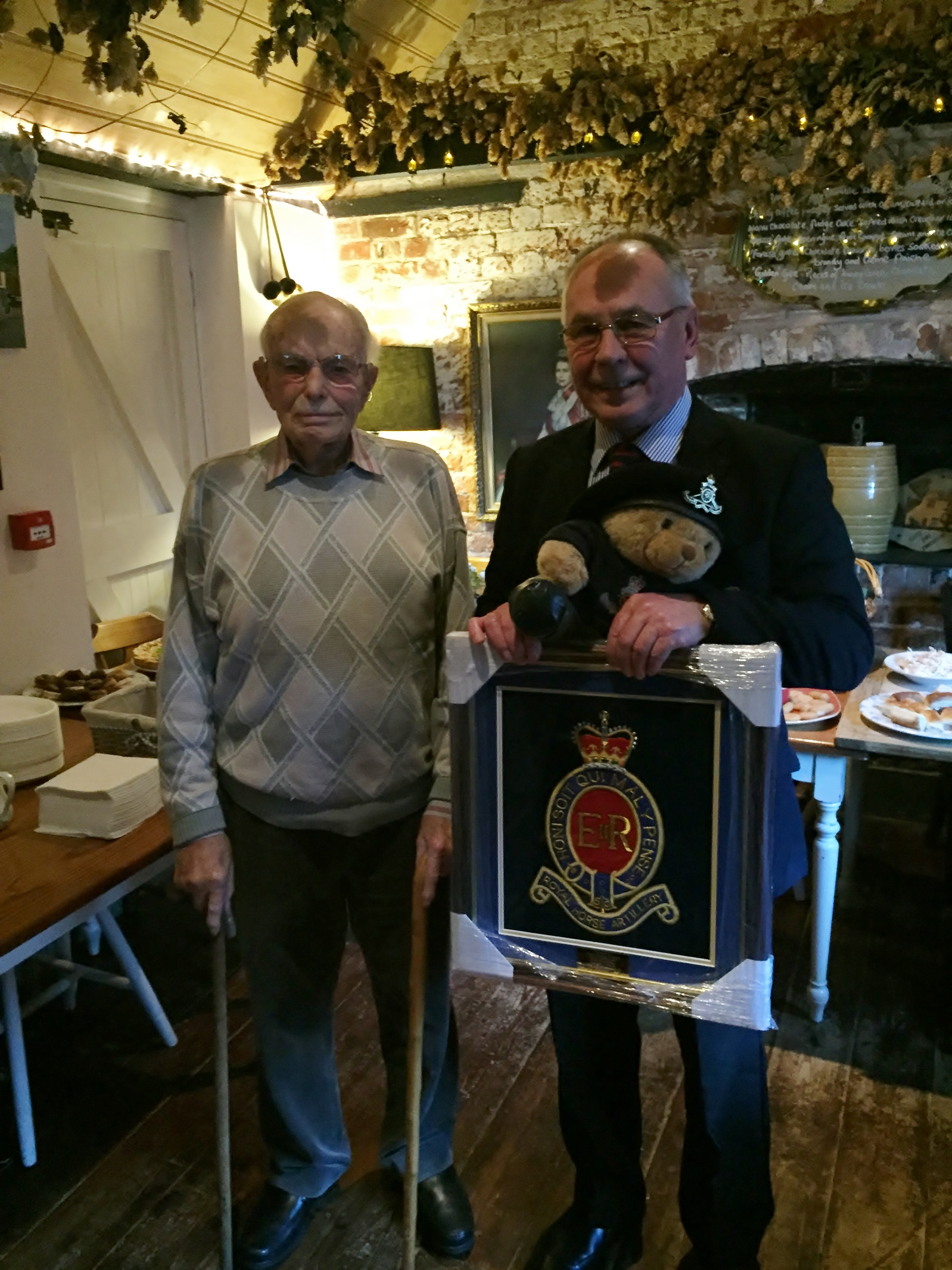 Capt Leslie Gosling 100th Birthday Celebrations